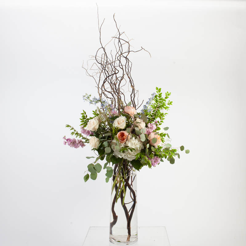 BOHO.CHIC.FLORAL.COLLECTIONS.TALL.GLASS.WATER.LUX.0207