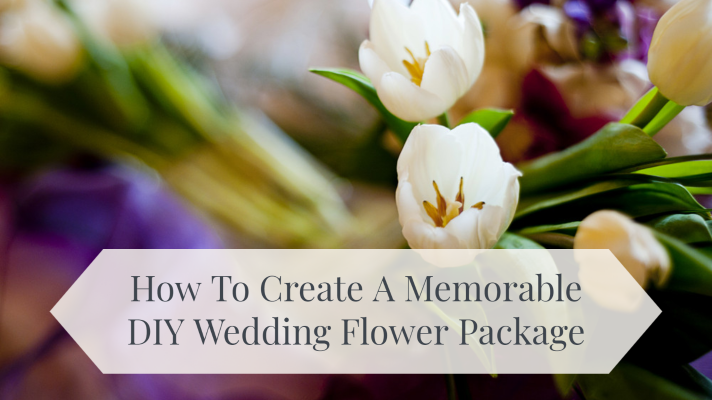 DIY wedding flower package